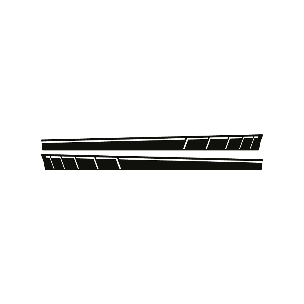 Mercedes-Benz Vito bedrijfsnaam striping